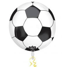 ballon de football en aluminium