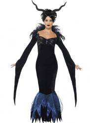 Costume lady raven pas cher