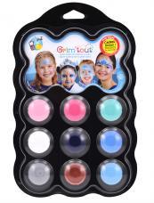palette de maquillage 9 couleurs reine des neiges