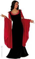 deguisement princesse medievale velours