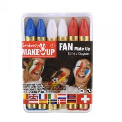 Crayon à maquillage supporter équipe de France
