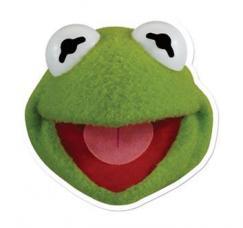 masque kermit la grenouille muppets show