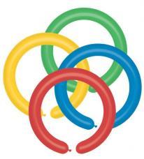 sachet de 50 ballons à sculpter multicolores