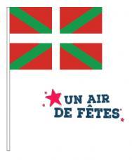 drapeau pays basque en papier