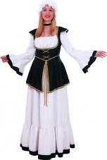 deguisement medieval femme robe longue
