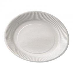 Assiettes carton blanche 15 cm de diamètre