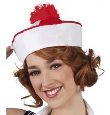 chapeau marin pompon rouge