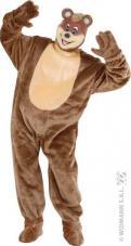 deguisement mascotte peluche ours brun