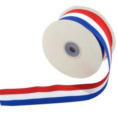 Ruban 50 mm x 25 m bleu blanc rouge