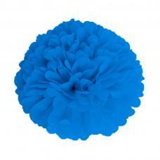pompom bleu nuit