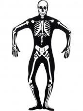 deguisement seconde peau squelette