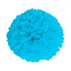 pompom bleu glacier