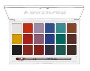 palette aquacolor 18 couleurs
