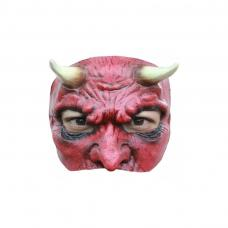 demi masque diable en Latex