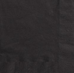 serviettes papier noir pas cher