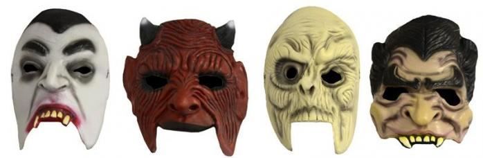 demi masque adulte