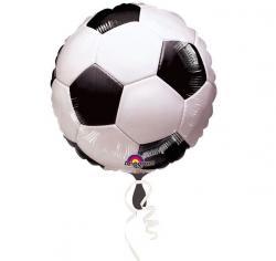 Ballon métallisé football pas cher