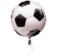 ballon metallise football