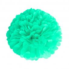 pompom vert celadon