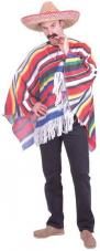 deguisement poncho mexicain