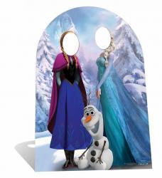 Passe Tête La Reine des Neiges pour enfant pas cher