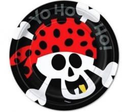 Assiettes Anniversaire Pirate pas cher
