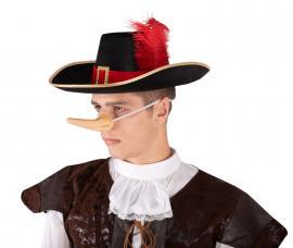 chapeau mousqutaire noir