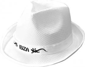 chapeau borsalino ibiza blanc