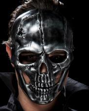 masque squelette et tete de mort pvc