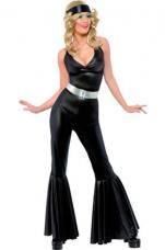 deguisement disco femme madone noire