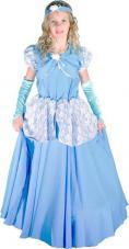 deguisement princesse bleue enfant