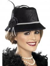 chapeau annees 20 femmes