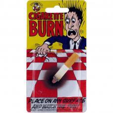 cigarette avec effet brûlure