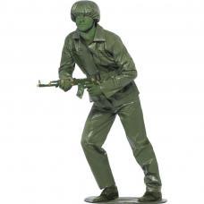 deguisement soldat vert jouet homme