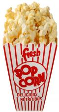 decoration cornet pop corn geant
