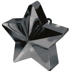 Poids à ballon étoile noir pas cher