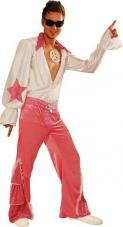 deguisement disco rose homme