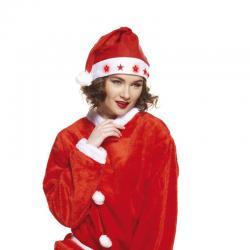 Bonnet de Noël lumineux adulte pas cher