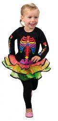Costume fille squelette pas cher