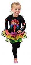 costume fille squelette