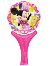 ballon cornet minnie mouse