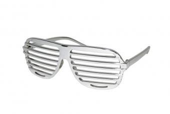 lunettes barreaux argent
