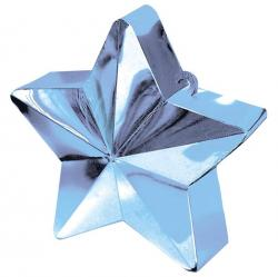 Poids à ballon étoile bleu ciel pas cher