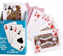 jeu de 54 mini cartes