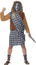 deguisement ecossais courageux homme