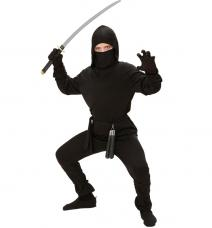 deguisement ninja noir enfant