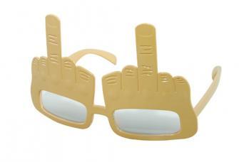 lunettes doigt d honneur