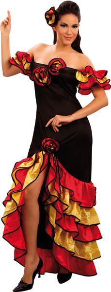 deguisement femme flamenco. Black Bedroom Furniture Sets. Home Design Ideas