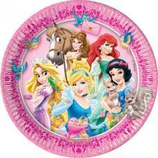 assiettes anniversaire princesses disney