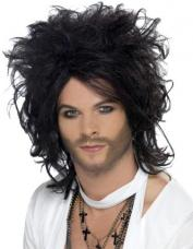perruque chanteur homme